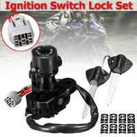 Ignition Switch Lock Key Gas Set + 2 Keys For Suzuki GSXR 600 750 1000 2006-2017