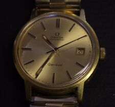 VINTAGE OMEGA Geneve  AUTOMATIC DATE Gold 20 Micron