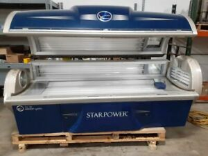ONLY 89 hours!  StarPower 52 4F Tanning bed Star Power