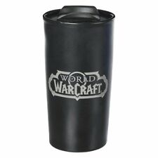 World of Warcraft Logo Mug Coffee Cup Travel WoW Box Packaging Blizzard Licensed
