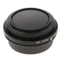 Adattatore per obiettivo Canon FD per fotocamera EOS EF Corpo Focus to
