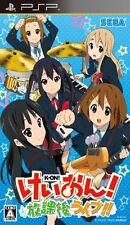 Used PSP K-On! Houkago Live!!  Japan Import ((Free shipping))