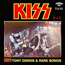 KISSTORY @DEMOS CD-3 RARE KISS !!! (Peter Criss/Gene Simmons/Paul Stanley)