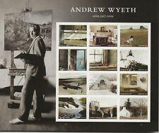 2017 Forever Andrew Wyeth full Sheet of 12 Scott #5212, Mint NH