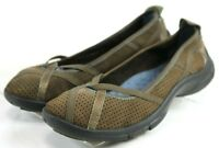 Privo By Clarks Women's $95 Comfort Loafers Shoes Size 19 Leather Brown
