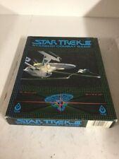 Star Trek III Starship Combat Game Slightly Punched FASA