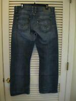 Levi's SilverTab Boot Cut Denim Blue Jeans Size 34X30 Levis