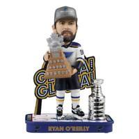 Ryan O'Reilly St. Louis Blues Gloria Gloria Stanley Cup Champions Bobblehead NHL