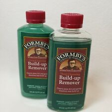 Lot of 2 Formby's Build-up Remover 8 fl oz each
