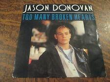 45 tours Jason Donovan - Too many broken hearts