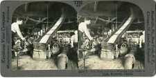 Canada MONTREAL Beet Pulp Juice Flowing To Tanks Stereoview 20944 T210 20133 fx