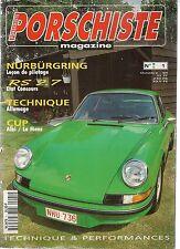 SPORTWAGEN 1 PORSCHISTE MAGAZINE 1 PORSCHE 911 CARRERA RS 2.7 RS73 RS 73 914 968