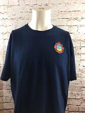 Pleasant Prairie Wisconsin Fire & Rescue Logo Blue T- Shirt Mens Size XL