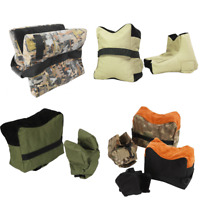 Front & Rear Rifle Target Bench Rest Stand Bags for Shooting Hunting Range Stand