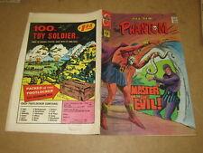 THE PHANTOM L'UOMO MASCHERATO CHARLTON COMICS N°54/1973 IN LINGUA ORIGINALE