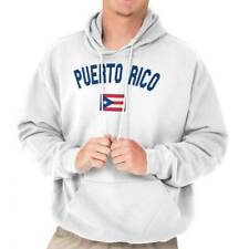Puerto Rico Country Flag Nation Pride Soccer Hoodies Sweat Shirts Sweatshirts