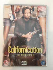 Californication - Season 3 DVD (2016) - Brand New and Sealed