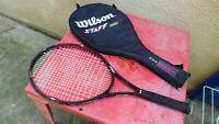raquette de tennis  Wilson Staff 450 ST High Beam series  110.SQ.IN  avec housse