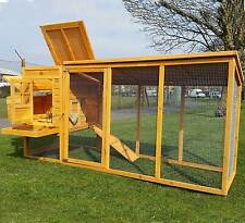 LARGE 8FT COCOON CHICKEN HEN HOUSE COOP POULTRY ARK RUN BRAND NEW 3000WXR