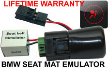 PASSENGER SEAT OCCUPANCY BYPASS MAT SENSOR FOR BMW E60 E61 + SEAT BELT SIMULATOR