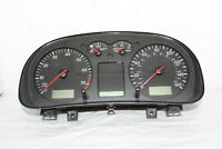 Speedometer Instrument Cluster 01 VW Jetta Dash Panel Gauges 128,937 Miles