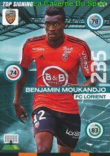346 BENJAMIN MOUKANDJO CAMEROON FC.LORIENT CARD UPDATE ADRENALYN 2016 PANINI