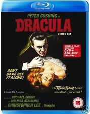 Dracula [1958] (Blu-ray/DVD)~~~~Christopher Lee~~~~HAMMER HORROR~~~~NEW & SEALED