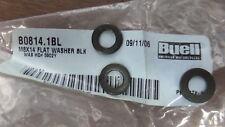 New Harley Davidson Buell OEM Head Lamp Flat Black Washers M2 S3 B0814.1BL QTY3