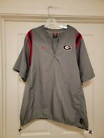 Vintage 90s Nike Georgia Bulldogs Player Used Team Worn Jacket Sz L RARE