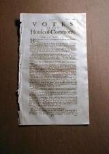 1715 British newspaper London ENGLAND - 300 years old !