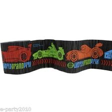 DISNEY CARS CREPE PAPER STREAMER ~  Birthday Party Supplies Hanging Decorations