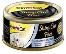 GimCat ShinyCat Filet Thunfisch & Anchovis 24 x 70g Dose