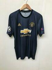 Manchester United adidas Men's 18/19 3rd Shirt - L - Lukaku 9 - Good Condition