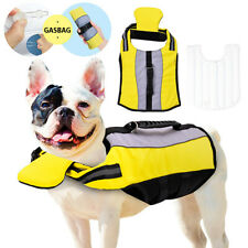 Safety Vest Pet Dog Life Jacket For Swimming Strong Buoyancy High Visibility