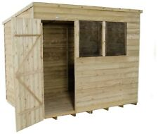 Forest 8 x 6ft Overlap Wooden Pent Shed