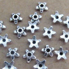 100pc Retro Flower Bead Caps End beads Finding Accessories Jewellery Making V748
