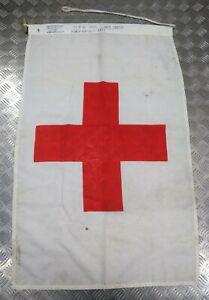 Genuine British Military Issues Full Size Red Cross Medics Banner QARANC RAMC