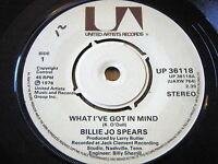 """BILLIE JO SPEARS - WHAT I'VE GOT IN MIND      7"""" VINYL"""