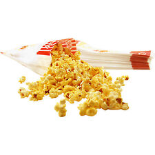 "Paper Popcorn Concession Bags - Set of 100 - 7 1/2"" - Party/Bar/Banquet Supplies"