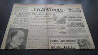 """ The Journal "" Edition Of 5 Heures Antique N°17305 Jeudi 7 Mars 1940 ABE"