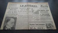 """""""El Diario"""" Edition De 5 Horas Antiguo N º 17305 Jueves 7 Mars 1940 ABE"""