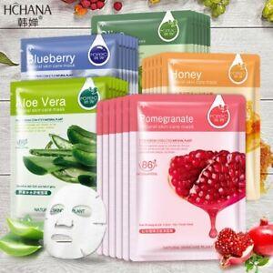 All Natural Korean Moisturising Hydrating Facial Mask Sheet NEW Mask UK Seller