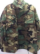 New Coat, Cold Weather, Field Woodland Camouflage Pattern, Large Regular