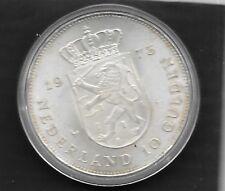 10 Gulden Argent -1948 - 4 SEPTEMBER 1973 sous capsule