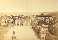 Italy - Fratelli Alinari / Bardi - c 1855-60 - Livorno - Piazza Grande 17x12,5 i