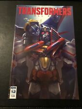 IDW Transformers Till All Are One Issue 12 Cover A (2016) Paper Comic
