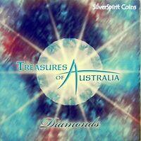 2009 TREASURES OF AUSTRALIA DIAMOND 1oz Silver Proof Coin