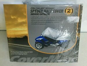 CoverMax Half Cover for BRP Can-Am Spyder RS Indoor Outdoor Motorcycle 107525