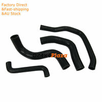 Silicone Hose Pipe Kits For Ford Falcon EF EL 6CYL 4.0L Black