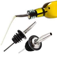 Useful Olive Oil Liquor Wine Beer Bartend Bottle Dispenser Stainless Steel Spout